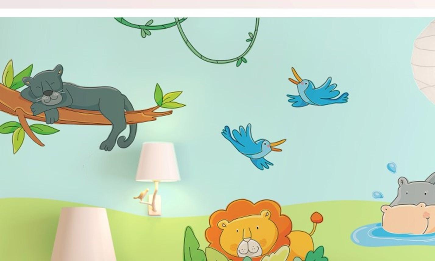 Stickers Murali Bambini - Cameretta Il Libro della Giungla | LeoStickers